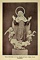 Statue of the Saint in St Mary Magdalen De-Pazzi's (Italian) Church, Philadelphia (1900).jpg