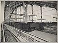 Steam trains on Harbour Bridge, 1932 (8282690131).jpg