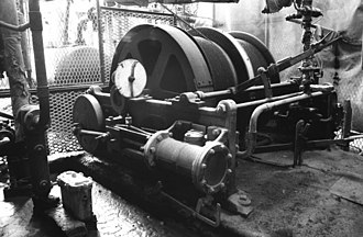 Winding engine - Small steam winding engine