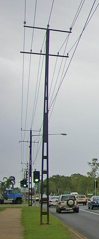 Types Of Electrical Poles : Bundle conductor wikivisually