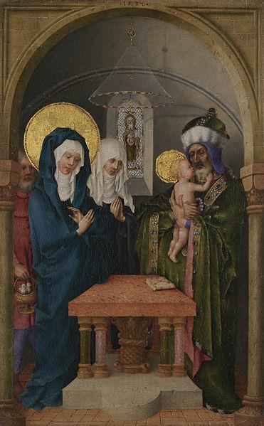 File:Stefan Lochner Presentation at the Temple, c 1447.jpg