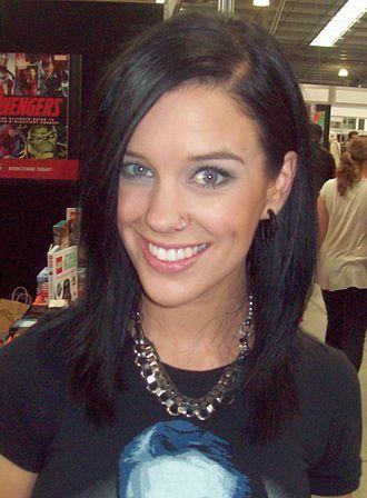 Stephanie Bendixsen - Bendixsen at the Melbourne Supanova Pop Culture Expo in 2012