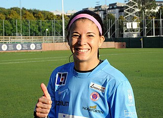 Stephanie Labbé - With Örebro in 2014
