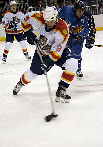 Stephen Weiss - With the Panthers in 2005.