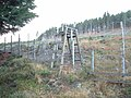 Stile over deer fence - geograph.org.uk - 307014.jpg