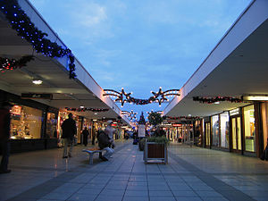 Stillorgan - Stillorgan Shopping Centre, first in Ireland