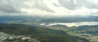 Stjørdal - View of Stjørdalshalsen