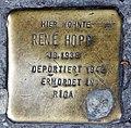 Stolperstein Badstr 64 (Gesbr) Rene Hopp.jpg