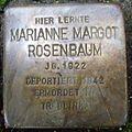 Stolperstein Gießen Nordanlage Marianne Margot Rosenbaum.JPG