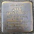 Stolperstein Hennef Bonner Straße 71 Adele Schönenberg.jpg