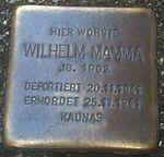 Stolperstein Munich Wilhelm Mamma.jpg
