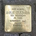 Stolperstein Sandweg 11 Amalie Stutzmann.jpg