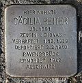 Stolperstein für Cäcilia Reiter.JPG