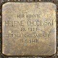 Stumbling block for Helene Chocinski (Alexianerstraße 3)