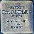 Stolperstein for Erna Falkenstein (Blaubach 67)
