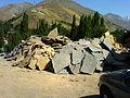 Stone Shope Next to Fasham Road ,Tehran - panoramio.jpg