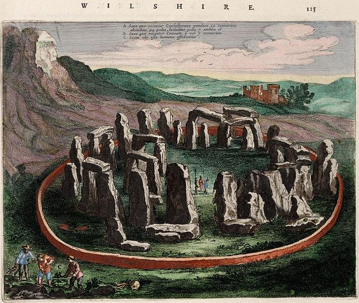 File:Stonehenge - Wiltonia sive Comitatus Wiltoniensis; Anglice Wilshire (Atlas van Loon).jpg
