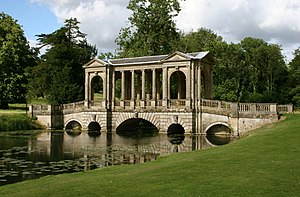 Souvenir (song) - The Palladian Bridge at Stowe House