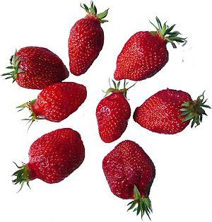 Strawberries gariguettes DSC03052
