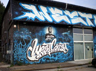 West Coast Customs - Facade of the Berlin franchise shortly after its closure