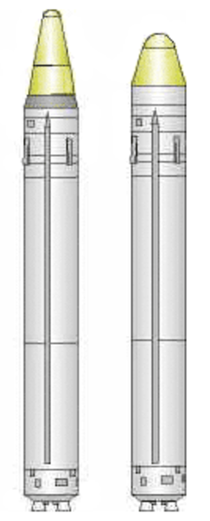 Strela (rocket) - Image: Strela rocket