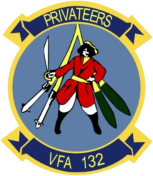 VFA-132 - Image: Strike Fighter Squadron 132 (United States Navy) patch 1985