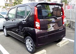 Subaru STELLA G Smart Assist (LA150F) rear.JPG