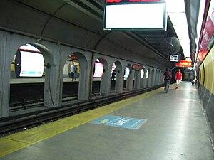 Pasteur - AMIA (Buenos Aires Underground) - Image: Subte Pasteur