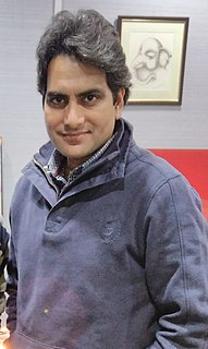 Sudhir Chaudhary (journalist) Indian journalist