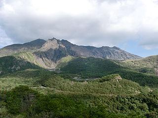 National park in Kyushu, Japan