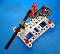 Sun and planet gear Mechanism with Base Lego Technic Pic 1.jpg