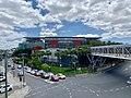 Suncorp Stadium, Milton Road facade, Brisbane 02.jpg