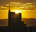 Sunrise over MetLife Centre, Cape Town.jpg