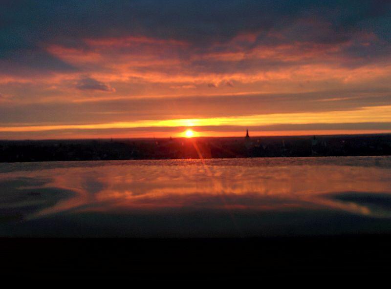 File:Sunset in Paderborn.jpg