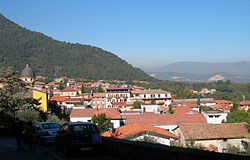 Skyline of Supino
