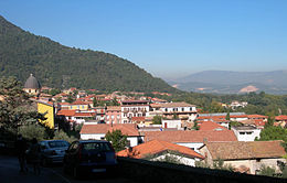 Supino – Panorama