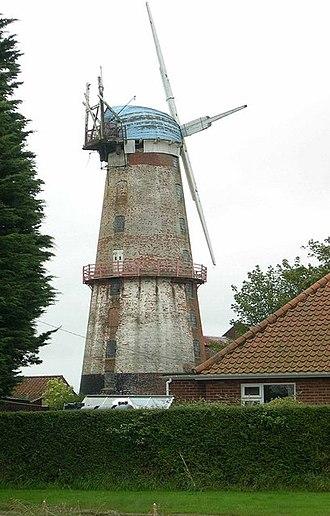 Sutton, Norfolk - Image: Sutton Mill geograph.org.uk 245142