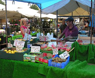 Sutton-in-Ashfield - Sutton-in-Ashfield open air market (Tuesdays, Fridays and Saturdays)