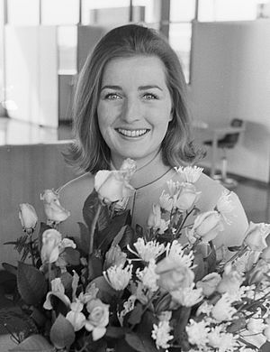 Miss Australia - Suzanne McClelland, Miss Australia 1969 in the Netherlands