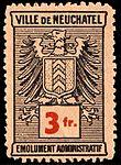 Switzerland Neuchâtel city 1930 revenue 6 3Fr - 12.jpg