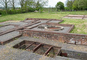 Swannington, Leicestershire - The remains of the engine house at the top of Swannington incline