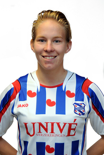 Sylvia Smit Dutch association footballer