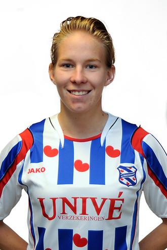 2008–09 Eredivisie (women) - Sylvia Smit (SC Heerenveen) Topscorer, 14 goals