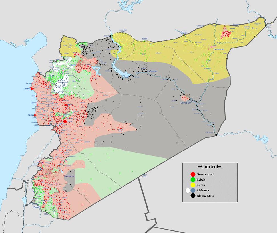 Syrian civil war 01 05 2016