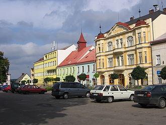Týniště nad Orlicí - Image: Týniště nad Orlicí square