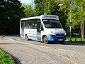 Třeboň, Jiráskova, autobus Stratos LE 37 dopravce GW BUS (02).jpg