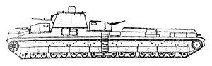 Landship - Schematic for the T-42 Soviet tank