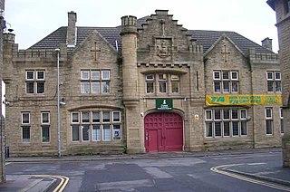 St Pauls Street drill hall, Huddersfield