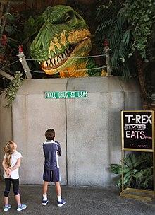 Wall Drug Dinosaur Model Part 92