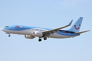 TUI Travel - Image: TU Ifly 738 D ATUM 170414